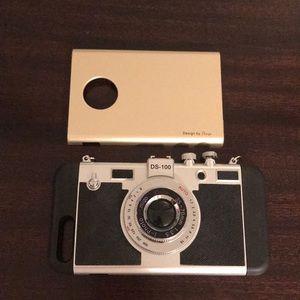 Accessories - iPhone 7+ Camera Phone Case w/xtra Bumper case EUC